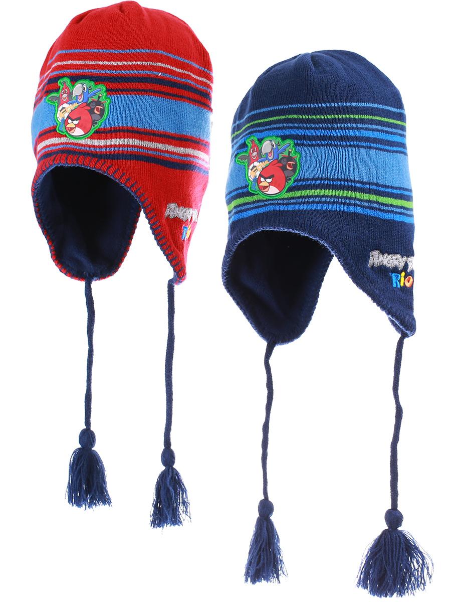 6a295071ce1 Chlapecká zimní čepice ANGRY BIRDS (54-56cm) - SLEVA !!!