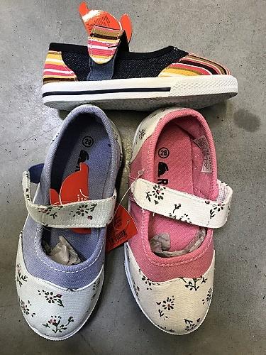 Dětská plátěná obuv REBIT (30-35)
