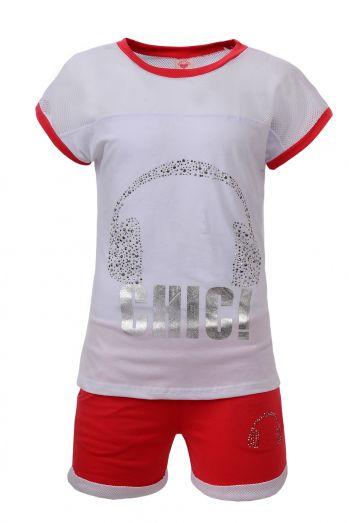 Dívčí komplet triko + šortky GLO STORY (134-164)