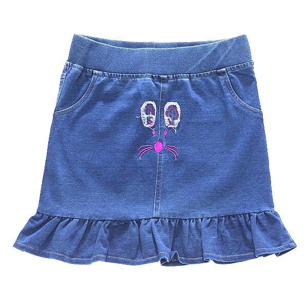 Dívčí džínová sukně WOLF (92-122)