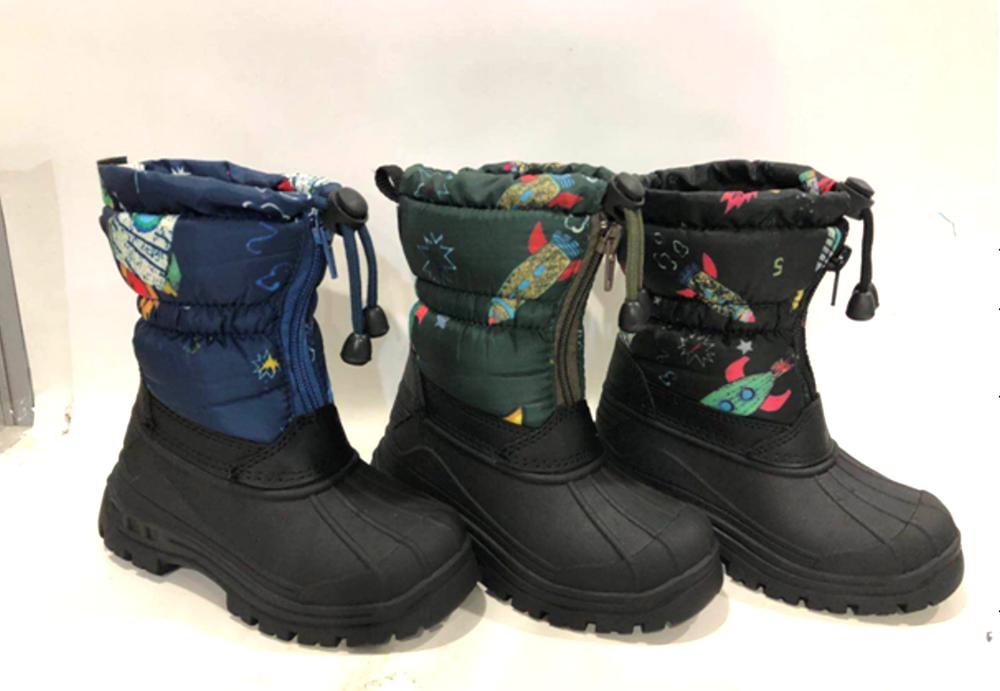 Dětské zimní gumové sněhule (30-35)