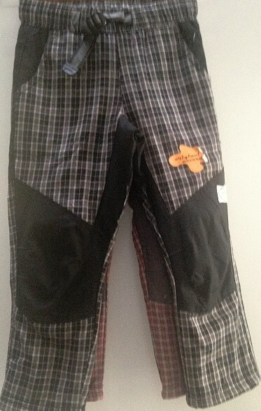 Outdoorové bavlněné slabé kalhoty NEVEREST (98-128)