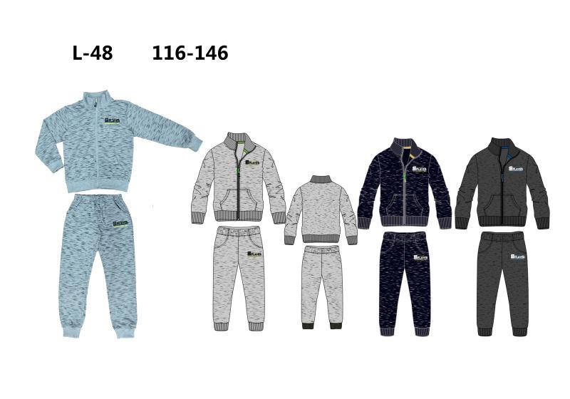 Chlapecká tepláková souprava SEZON (116-146)