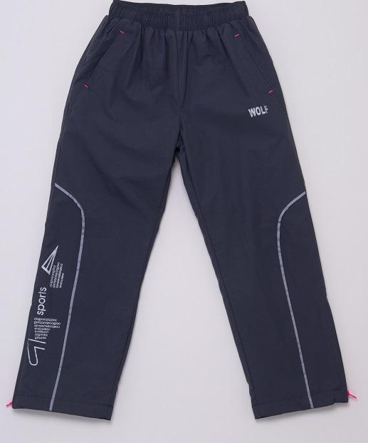 Chlapecké šusťákové kalhoty s fleecem  WOLF (98-128)