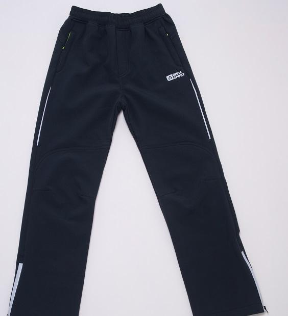 Dorostenecké softshellové kalhoty WOLF (152-170