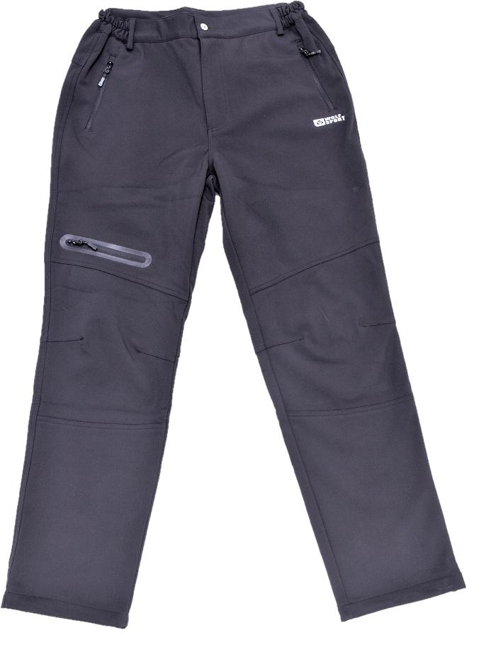 Pánské zateplené softshellové kalhoty WOLF (M-2XL)