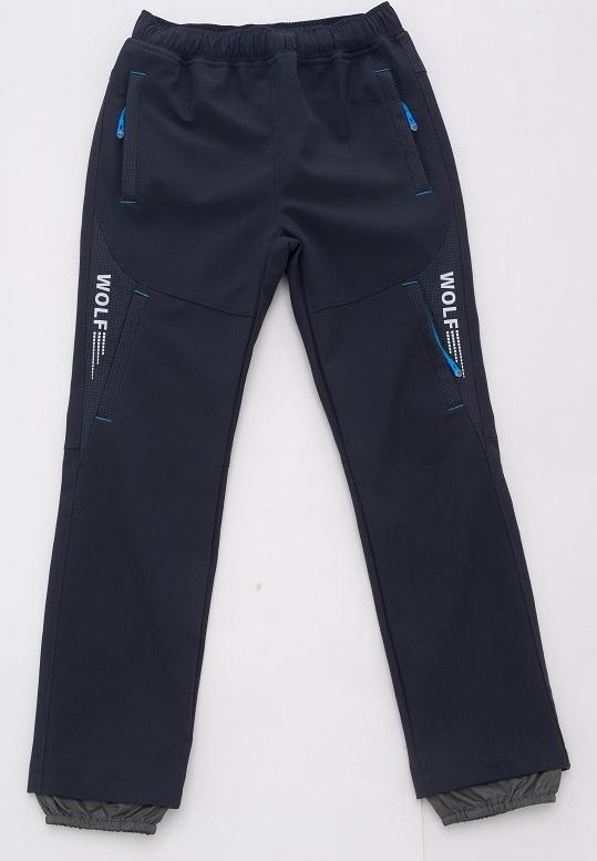 Chlapecké softshellové kalhoty WOLF (116-146)