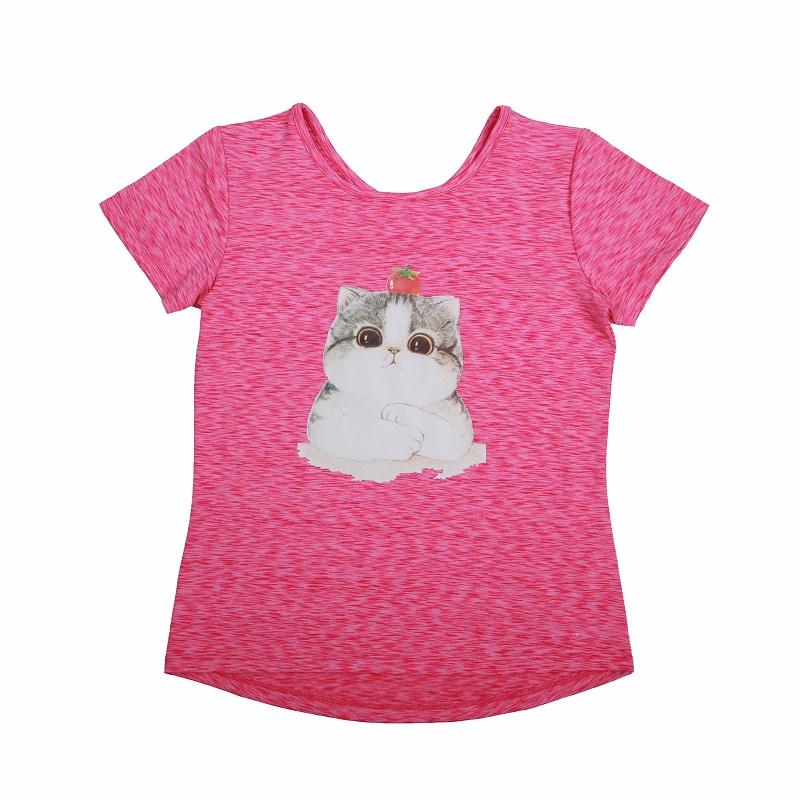 Dívčí funkční  triko s krátkým rukávem WOLF (98-128)