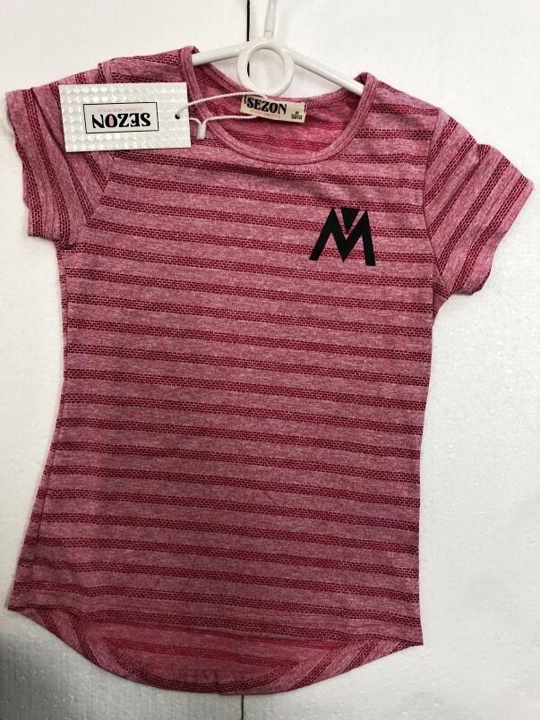 Dívčí triko s krátkým rukávem SEZON (4-12 let)