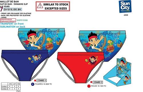 Chlapecké plavky JAKE PIRÁT (4-8let) SLEVA