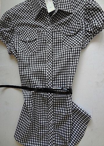 Dámská košilová tunika BENHAO (M-XXXL)