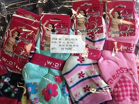 Dívčí ponožky AMZF (23-37)
