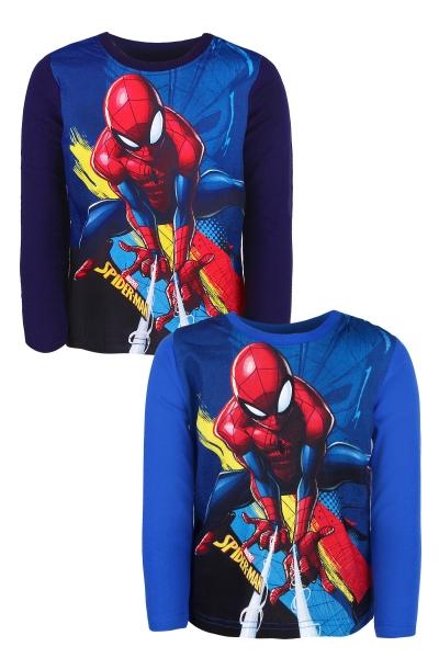 Chlapecké triko s dlouhým rukávem SPIDERMAN (98-128cm)