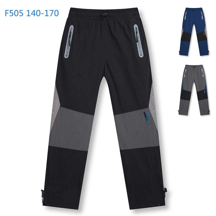Dorostenecké zateplené outdoorové kalhoty KUGO (140-170)