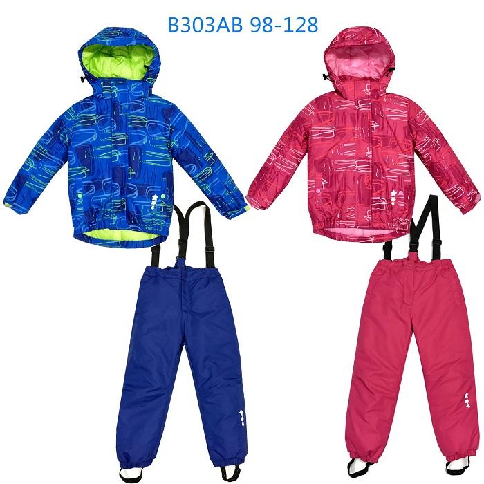 Dětský zimní komplet bunda + oteplováky KUGO (98-128)