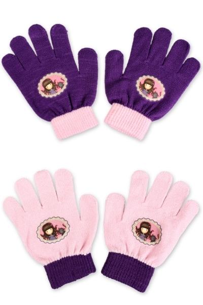 Dívčí prstové rukavice GOR. (12-16 cm)