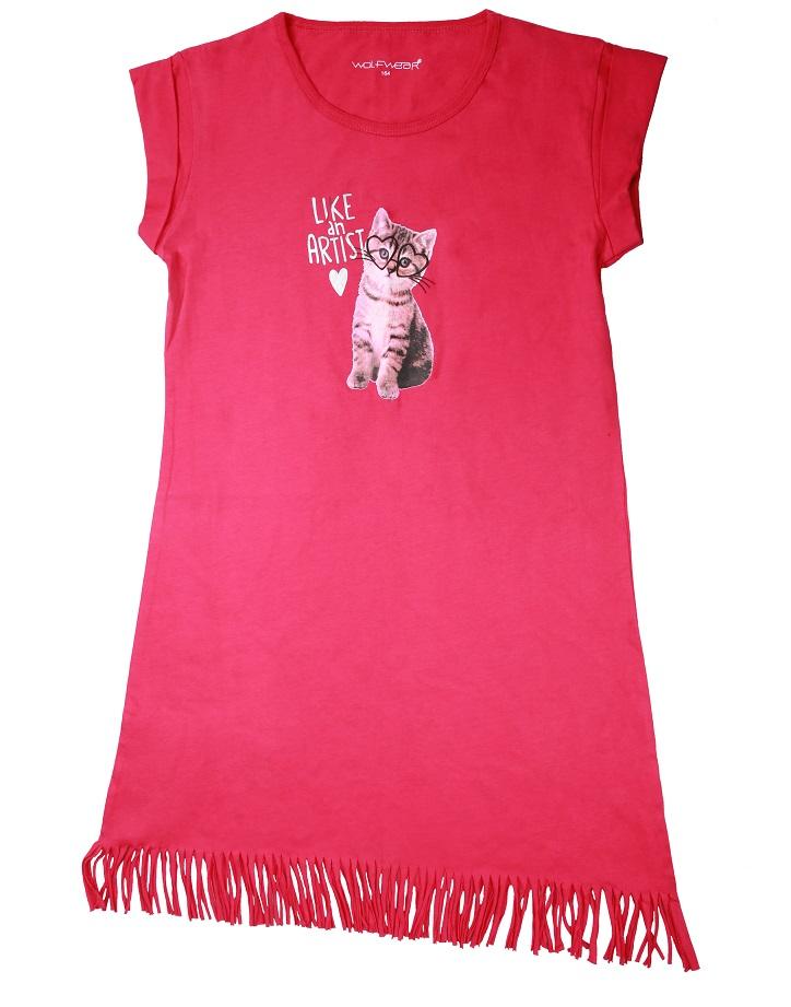 Dívčí noční košile WOLF (134-164)