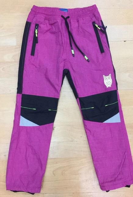 Šusťákové teplé  kalhoty  SEZON (98-128)