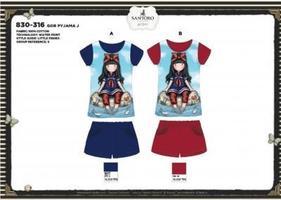 Dívčí letní komplet triko + šortky  Gorjuss (104-140)