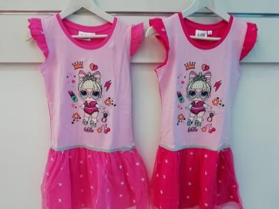 Dívčí šaty LOL (115-152)