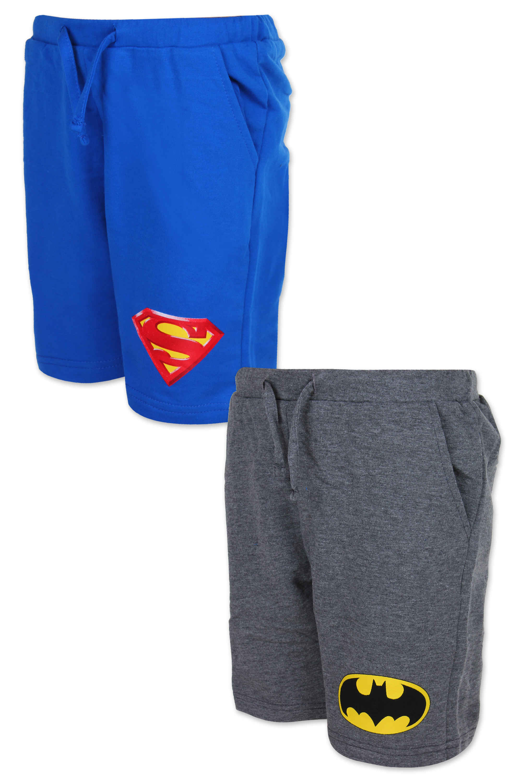 Chlapecké kraťasy SUPER MAN + BATMAN  (104-152)
