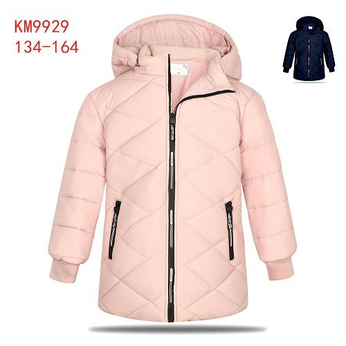 Dívčí zimní  teplá  bunda KUGO (134-164)