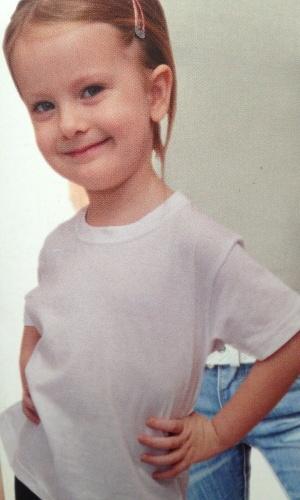 Dětské jednobarevné triko BLOSSOM (92-122) - žlutá