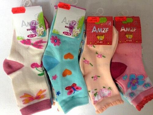 Dívčí ponožky AMZF (17-26)