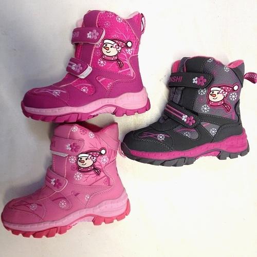 Dívčí zimní obuv LIN SHI (27-32)