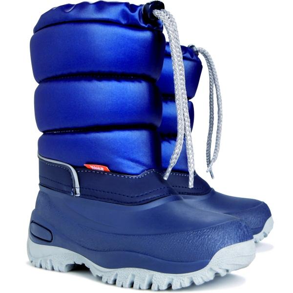 Dětské sněhule DEMAR (25-35) modré