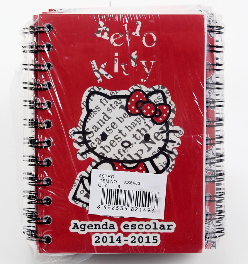 Dívčí diář HELLO KITTY - SLEVA