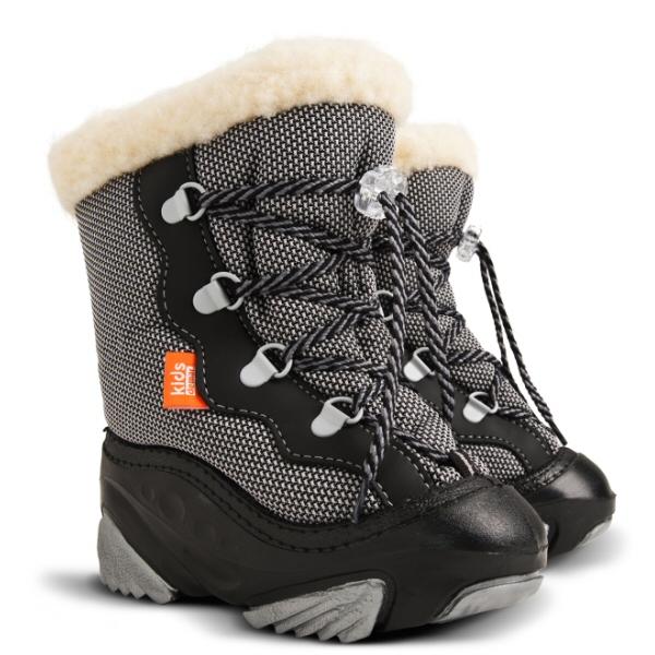 3e7ac4ea0d3 Dětské zimní sněhule DEMAR (20-29) černé