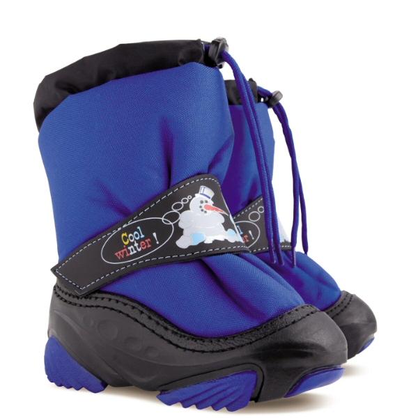 Dětské zimní sněhule DEMAR (20-29) modré