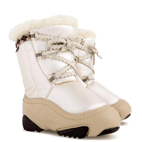 Dětské sněhule DEMAR (20-29) bílé