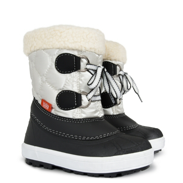 Dětské zimní sněhule DEMAR (20-29) bílé