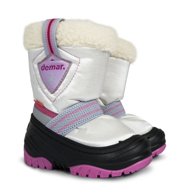 Dětské zimní sněhule DEMAR (20-29) růžové
