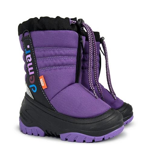 Dětské zimní sněhule DEMAR (20-29) fialové
