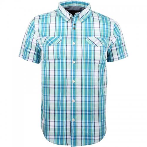 Pánská košile s kr.rukávem GLO-STORY, (M-XXL)