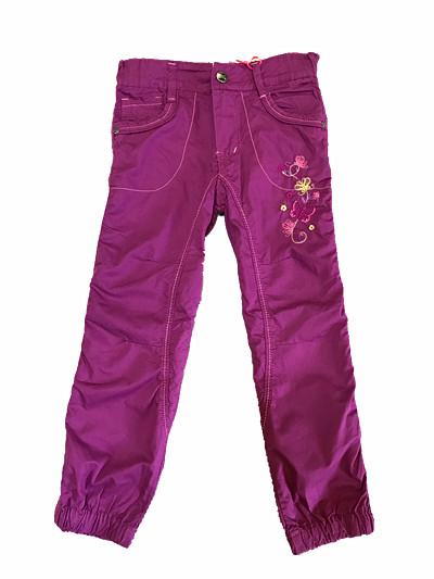 Dívčí plátěné kalhoty KUGO (98-128)