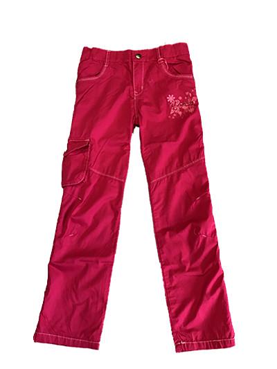 Dívčí plátěné kalhoty KUGO (110-146)