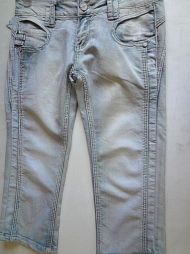Dámské 3/4 riflové kalhoty BENHAO (27-33)