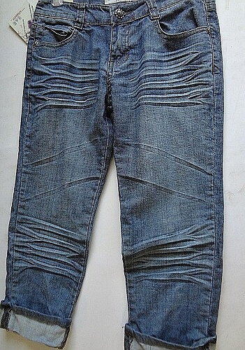 Dámské 3/4 riflové kalhoty BENHAO (27-32)