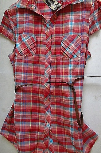 Dámské košilové šaty BENHAO (M-XXXL)