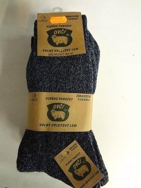 Pánské thermo ponožky z ovčí vlny  AMZF (40-47)