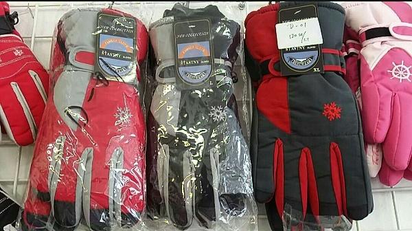Dámské lyžařské rukavice DELFIN