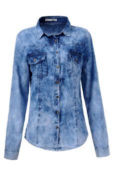 Dámská džínová košile GLO-STORY (S-XL)
