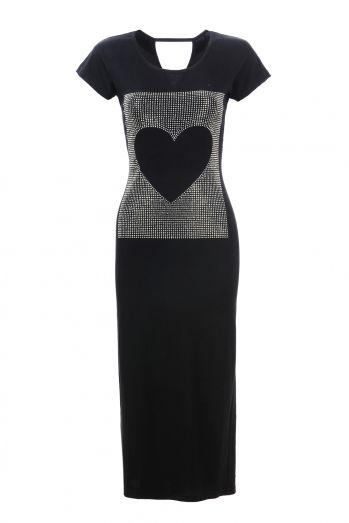 Dámské šaty s kr. rukávem GLO-STORY (S-L)