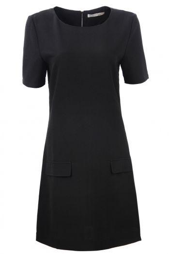 Dámské šaty s kr. rukávem GLO-STORE (S-XL)