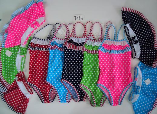 Dívčí plavky se sukní SEFON (122-164)