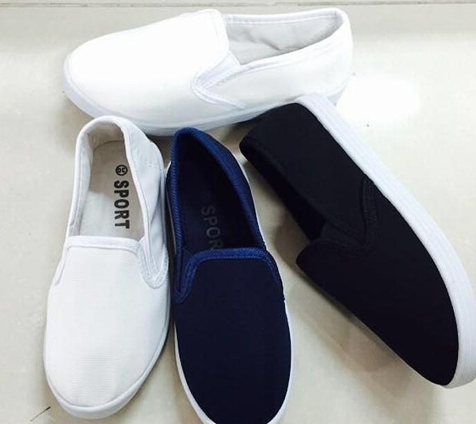 Dětská plátěná obuv CAMO (30-35)